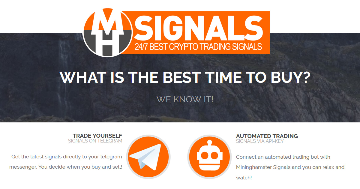 MiningHamster signals - Crypto signals - WORLD'S MOST